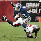 Giants Buccaneers Football: Tampa  FL - Mario Manningham
