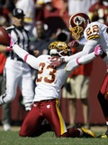 Buccaneers Redskins Football: Landover  MD - DeAngelo Hall