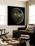 Artist's Concept of a Terraformed Mars