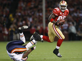 Bears 49ers Football: San Francisco  CA - Vernon Davis