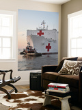 The Hospital Ship Usns Comfort Departs for Deployment