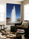 Eruption of Strokkur Geysir  Iceland