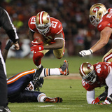 Bears 49ers Football: San Francisco  CA - Frank Gore