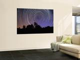 Circular Star Trails Taken from Alentejo  Portugal