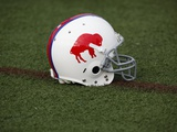 Bills Camp Football: Pittsford  NY - A Buffalo Bills Throwback Helmet