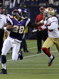 49ers Vikings Football: Minneapolis  MN - Adrian Peterson