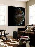 A Partially Lit Terrestrial World