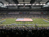 Packers Lions Football: Detroit  MI - Ford Field