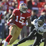 Jaguars 49ers Football: San Francisco  CA - Michael Crabtree