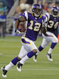 49ers Vikings Football: Minneapolis  MN - Percy Harvin