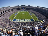 Ravens Chargers Football: San Diego  CALIFORNIA - Qualcomm Stadium