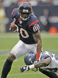 Seahawks Texans Football: Houston  TX - Andre Johnson