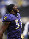 Broncos Ravens Football: Baltimore  MD - Ray Lewis