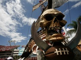 Cowboys Buccaneers Football: Tampa  FL - The Pirate Ship