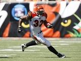 Broncos Bengals Football: Cincinnati  OH - Cedric Benson