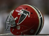 Panthers Falcons Football: Atlanta  GA - A 1966 Falcons Throwback Helmet