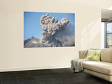 Ash Cloud Following Explosive Vulcanian Eruption  Sakurajima Volcano  Japan
