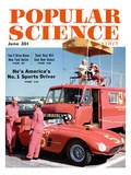 Front Cover of Popular Science Magazine: June 1  1950