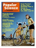 Front cover of Popular Science Magazine: June 1  1973