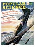 Front cover of Popular Science Magazine: April 1  1940