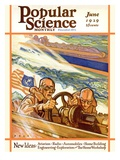 Front cover of Popular Science Magazine: June 1  1929
