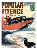 Front Cover of Popular Science Magazine: January 1  1930