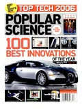 Front cover of Popular Science Magazine: December 1  2006