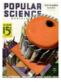 Front cover of Popular Science Magazine: November 1  1930