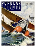 Front Cover of Popular Science Magazine: June 1  1931