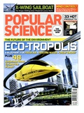 Front cover of Popular Science Magazine: July 1  2008