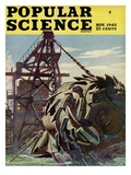 Front cover of Popular Science Magazine: November 1  1945