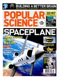 Front cover of Popular Science Magazine: October 1  2007