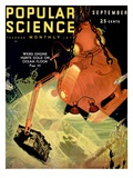Front Cover of Popular Science Magazine: September 1  1930