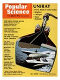 Front Cover of Popular Science Magazine: February 1  1972