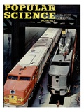 Front cover of Popular Science Magazine: October 1  1946
