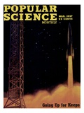 Front cover of Popular Science Magazine: March 1  1947