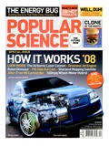Front cover of Popular Science Magazine: April 1  2008