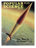 Front cover of Popular Science Magazine: May 1  1946