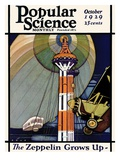 Front Cover of Popular Science Magazine: October 1  1929