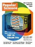 Front cover of Popular Science Magazine: February 1  1968