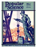 Front Cover of Popular Science Magazine: May 1  1927