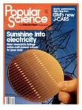 Front cover of Popular Science Magazine: April 1  1981