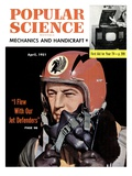 Front cover of Popular Science Magazine: April 1  1951