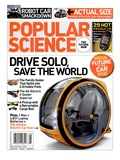Front cover of Popular Science Magazine: May 1  2007