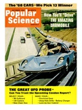 Front Cover of Popular Science Magazine: October 1  1967