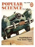 Front cover of Popular Science Magazine: September 1  1949