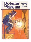 Front Cover of Popular Science Magazine: December 1  1929