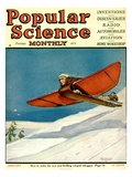 Front Cover of Popular Science Magazine: January 1  1920
