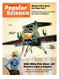 Front cover of Popular Science Magazine: September 1  1966