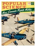 Front cover of Popular Science Magazine: January 1  1940